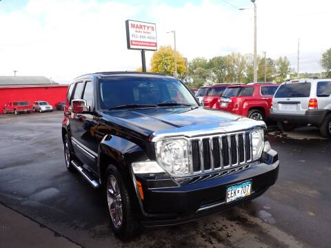 2011 Jeep Liberty for sale at Marty's Auto Sales in Savage MN