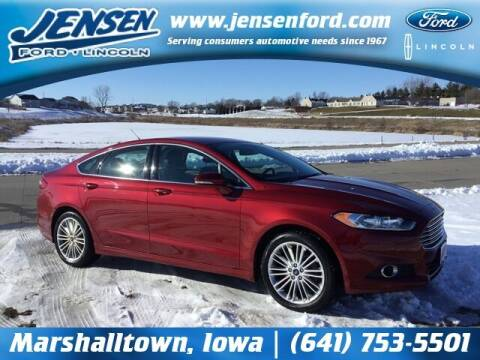 2016 Ford Fusion for sale at JENSEN FORD LINCOLN MERCURY in Marshalltown IA