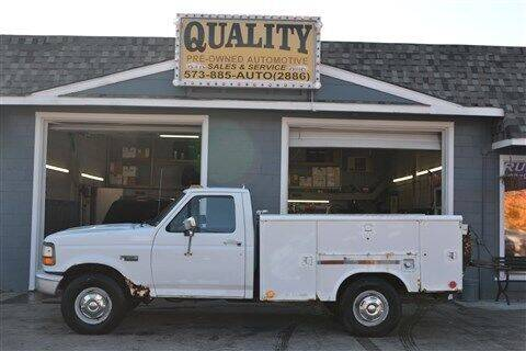 1995 Ford F-350 for sale at Quality Pre-Owned Automotive in Cuba MO
