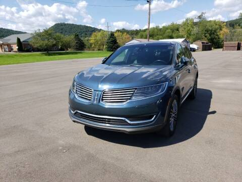 2016 Lincoln MKX for sale at Greens Auto Mart Inc. in Wysox PA