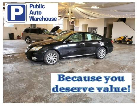 2011 Lexus ES 350 for sale at Public Auto Warehouse in Pekin IL