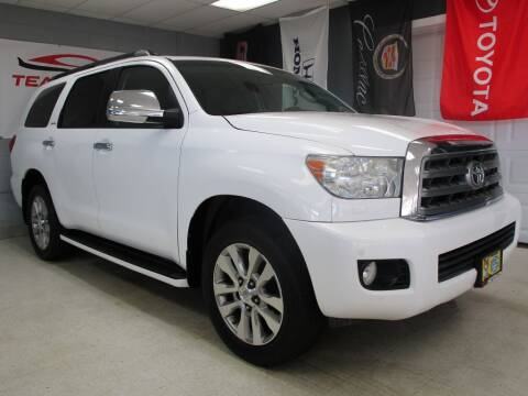 2012 Toyota Sequoia for sale at TEAM MOTORS LLC in East Dundee IL