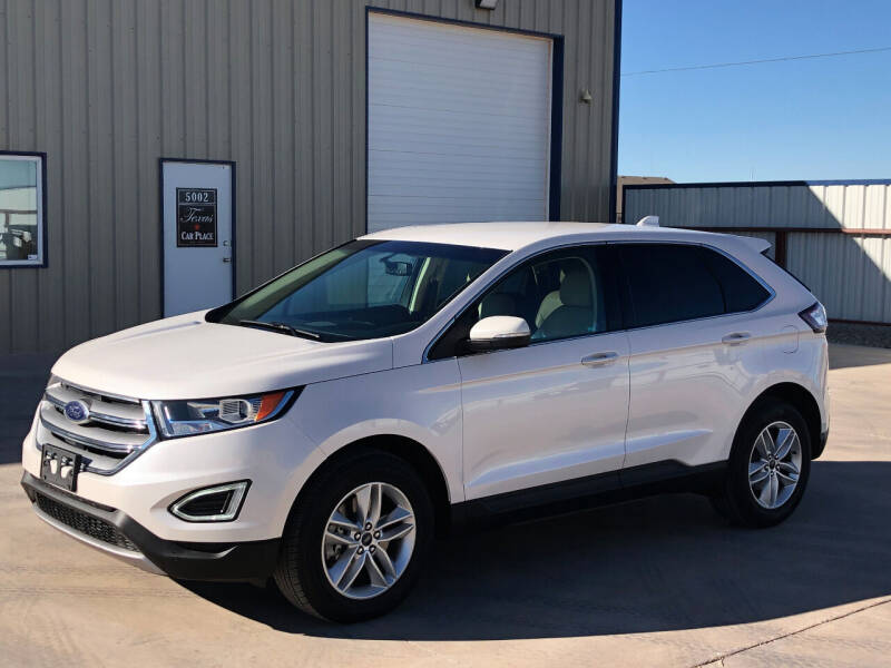 2017 Ford Edge for sale at TEXAS CAR PLACE in Lubbock TX