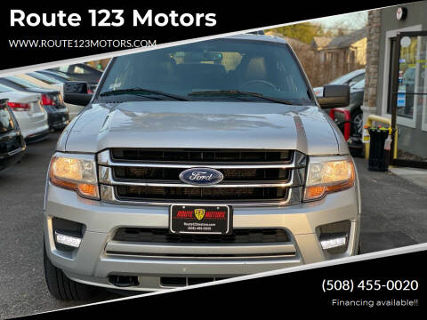 2015 Ford Expedition for sale at Route 123 Motors in Norton MA