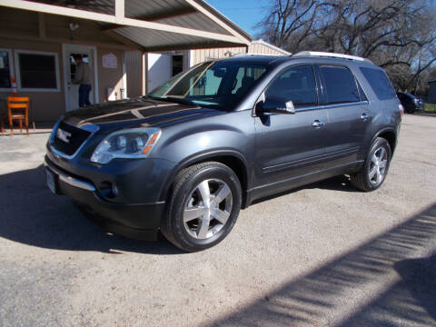 2012 GMC Acadia for sale at DISCOUNT AUTOS in Cibolo TX