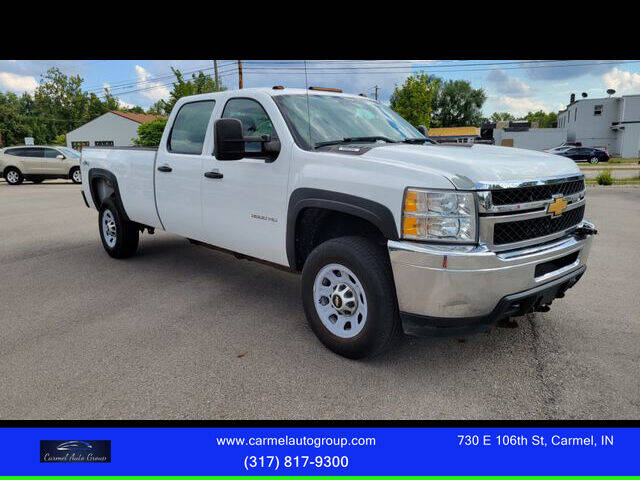 2013 Chevrolet Silverado 3500HD for sale at Carmel Auto Group in Indianapolis IN