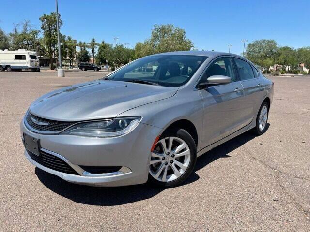 2016 Chrysler 200 for sale at DR Auto Sales in Glendale AZ
