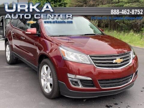 2017 Chevrolet Traverse for sale at Urka Auto Center in Ludington MI