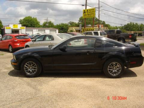 2005 Ford Mustang for sale at A-1 Auto Sales in Conroe TX