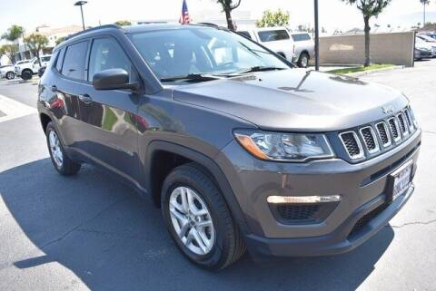 2018 Jeep Compass for sale at DIAMOND VALLEY HONDA in Hemet CA