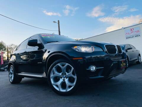 2012 BMW X6 for sale at Alpha AutoSports in Roseville CA