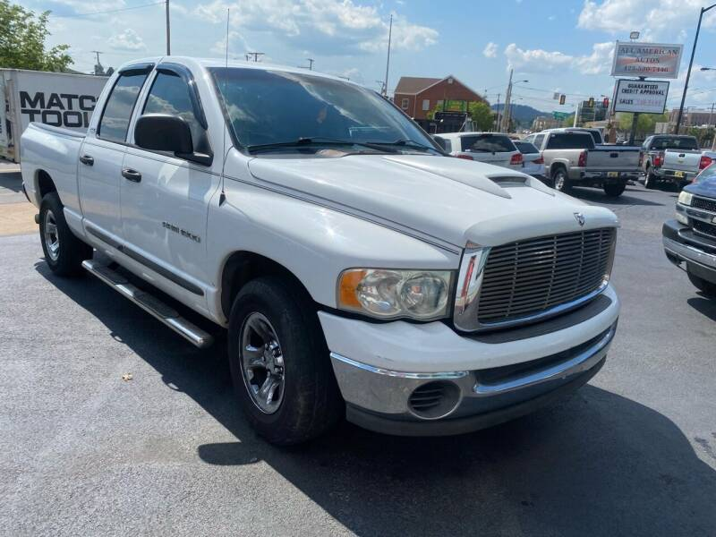2002 Dodge Ram Pickup 1500 for sale at All American Autos in Kingsport TN