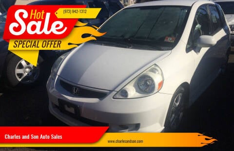 2007 Honda Fit for sale at Charles and Son Auto Sales in Totowa NJ