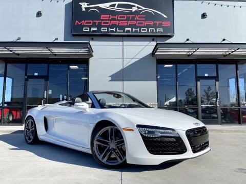 2015 Audi R8 for sale at Exotic Motorsports of Oklahoma in Edmond OK