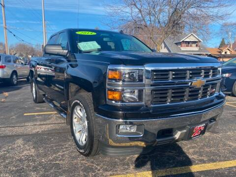 2014 Chevrolet Silverado 1500 for sale at Zs Auto Sales in Kenosha WI