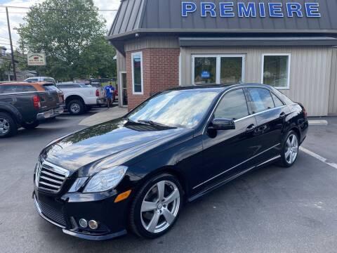 2010 Mercedes-Benz E-Class for sale at Premiere Auto Sales in Washington PA