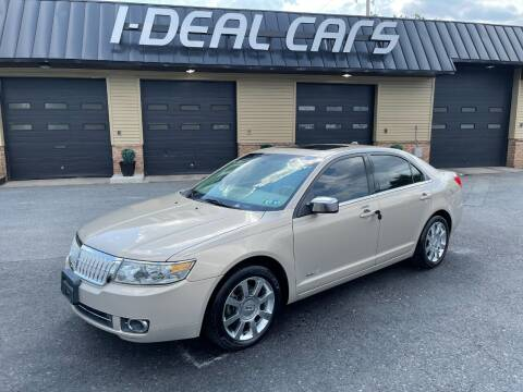 2007 Lincoln MKZ for sale at I-Deal Cars in Harrisburg PA