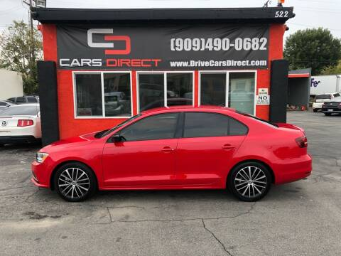 2016 Volkswagen Jetta for sale at Cars Direct in Ontario CA