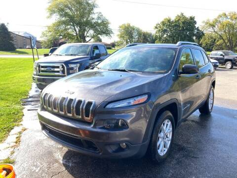2016 Jeep Cherokee for sale at Deals on Wheels Auto Sales in Scottville MI