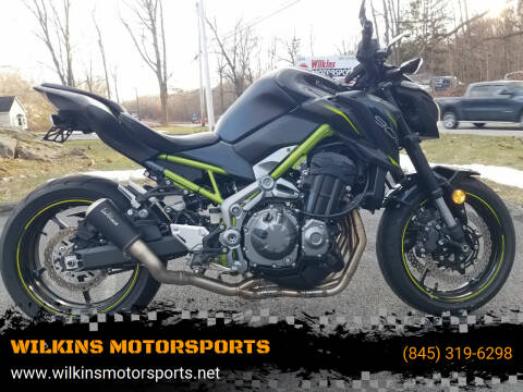 2019 Kawasaki ZR900 for sale at WILKINS MOTORSPORTS in Brewster NY