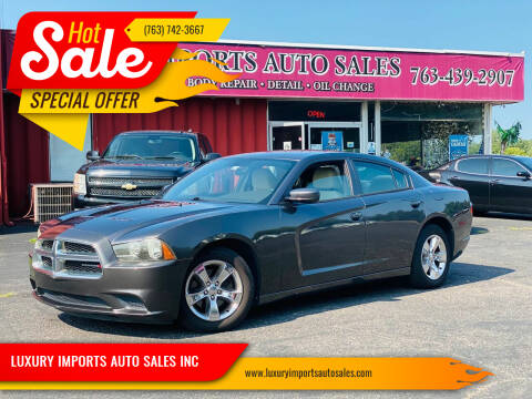 2013 Dodge Charger for sale at LUXURY IMPORTS AUTO SALES INC in North Branch MN