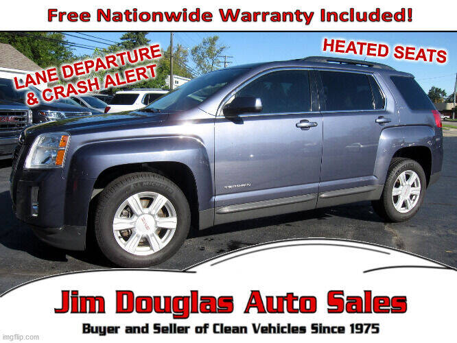 2014 GMC Terrain for sale at Jim Douglas Auto Sales in Pontiac MI