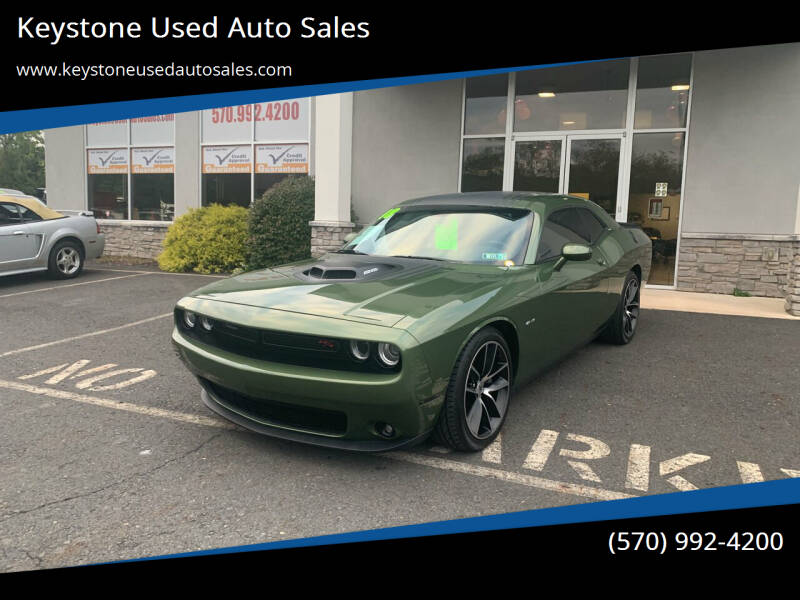 2018 Dodge Challenger for sale at Keystone Used Auto Sales in Brodheadsville PA