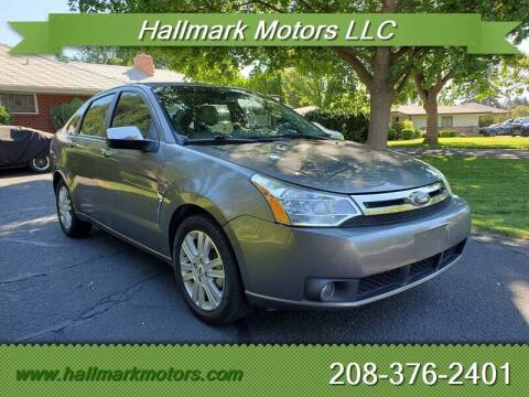 2009 Ford Focus for sale at HALLMARK MOTORS LLC in Boise ID