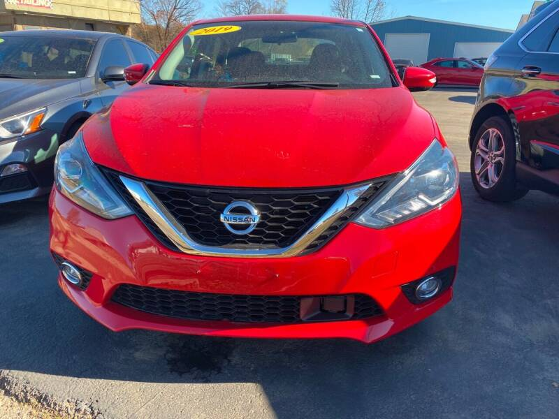 2019 Nissan Sentra for sale at BEST AUTO SALES in Russellville AR