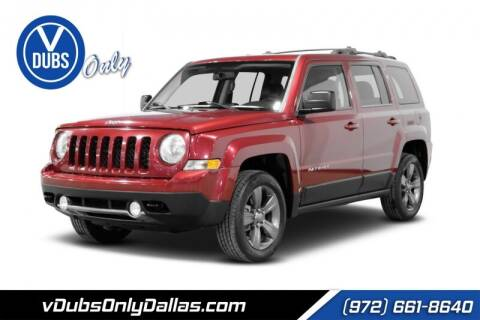 2014 Jeep Patriot for sale at VDUBS ONLY in Dallas TX