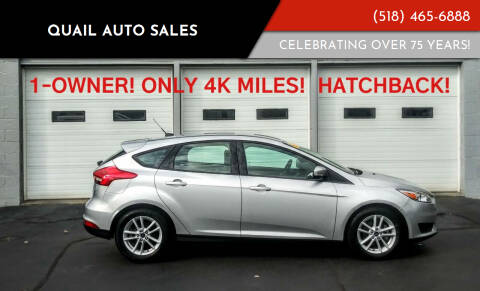 2018 Ford Focus for sale at Quail Auto Sales in Albany NY