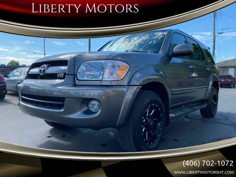 2005 Toyota Sequoia for sale at Liberty Motors in Billings MT