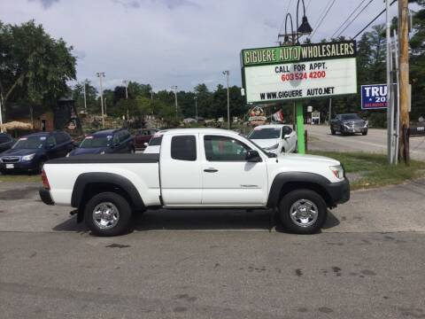 2012 Toyota Tacoma for sale at Giguere Auto Wholesalers in Tilton NH