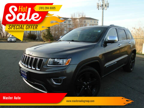 2014 Jeep Grand Cherokee for sale at Master Auto in Revere MA