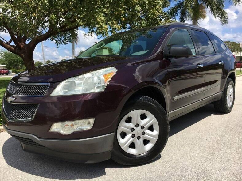 2009 Chevrolet Traverse for sale at DS Motors in Boca Raton FL