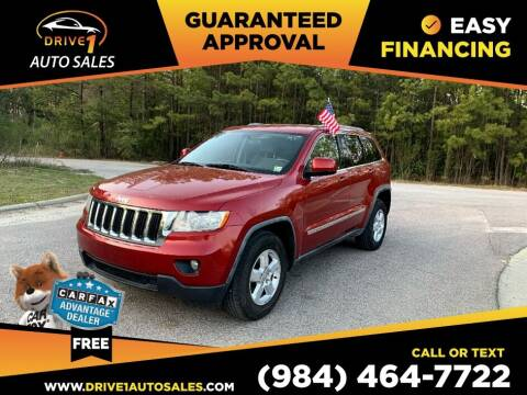 2011 Jeep Grand Cherokee for sale at Drive 1 Auto Sales in Wake Forest NC