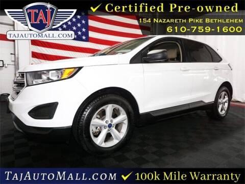 2018 Ford Edge for sale at Taj Auto Mall in Bethlehem PA