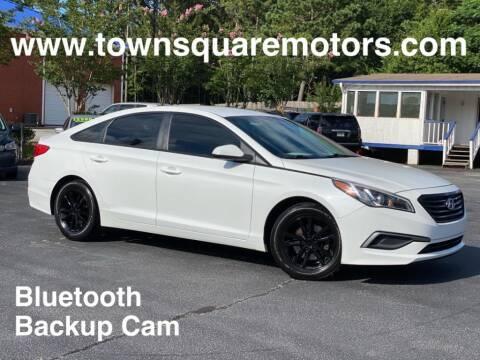 2016 Hyundai Sonata for sale at Town Square Motors in Lawrenceville GA