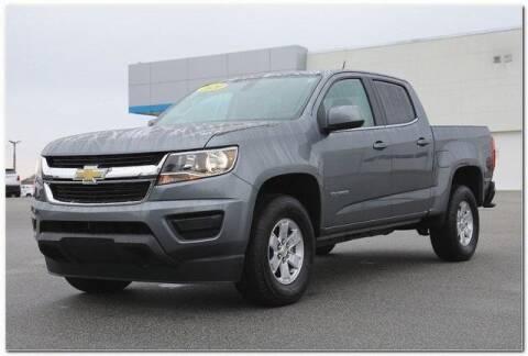 2020 Chevrolet Colorado for sale at WHITE MOTORS INC in Roanoke Rapids NC