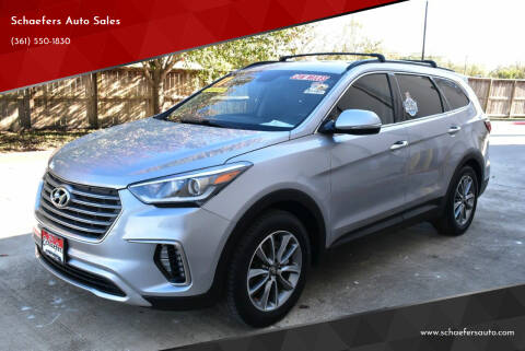 2017 Hyundai Santa Fe for sale at Schaefers Auto Sales in Victoria TX