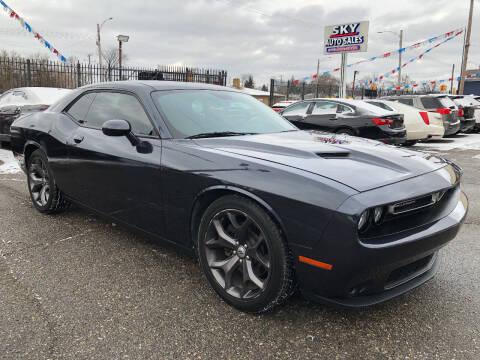 2018 Dodge Challenger for sale at SKY AUTO SALES in Detroit MI