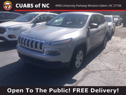 2014 Jeep Cherokee for sale at Summit Credit Union Auto Buying Service in Winston Salem NC