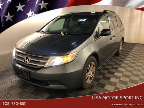 2011 Honda Odyssey for sale at USA Motor Sport inc in Marlborough MA