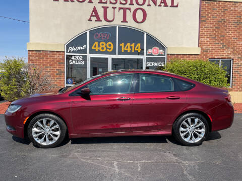 2015 Chrysler 200 for sale at Professional Auto Sales & Service in Fort Wayne IN