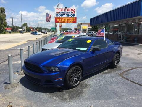 2013 Ford Mustang for sale at Deckers Auto Sales Inc in Fayetteville NC