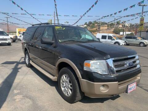 2013 Ford Expedition EL for sale at Los Compadres Auto Sales in Riverside CA