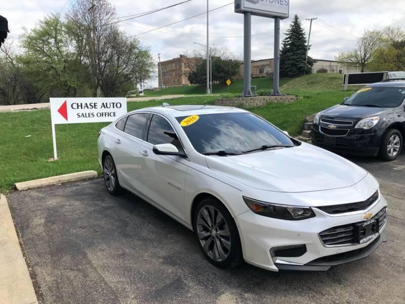 2016 Chevrolet Malibu for sale at Cresthill Auto Sales Enterprises LTD in Crest Hill IL