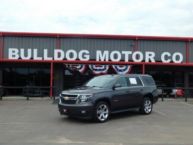 2016 Chevrolet Tahoe for sale at Bulldog Motor Company in Borger TX