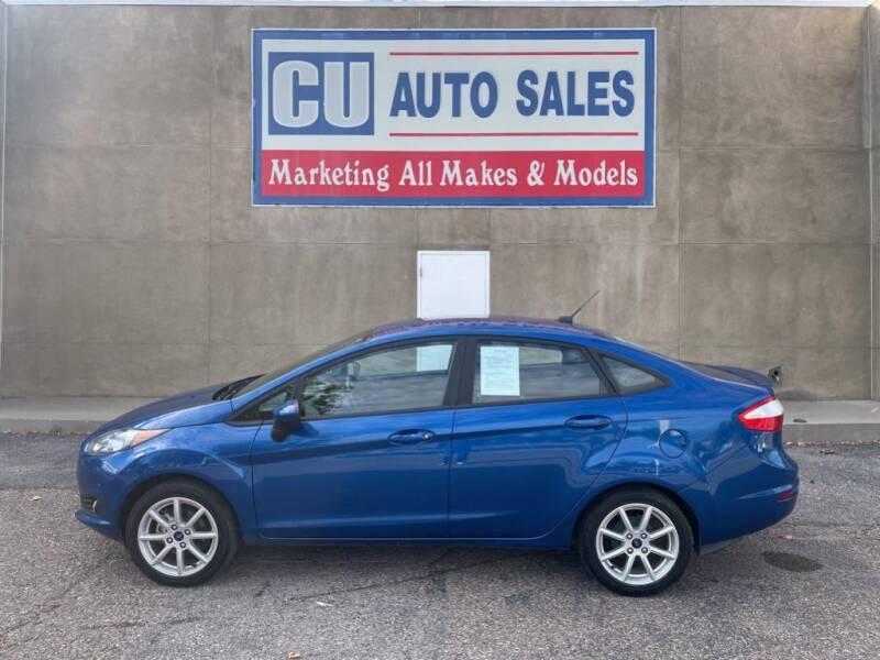 2019 Ford Fiesta for sale at C U Auto Sales in Albuquerque NM