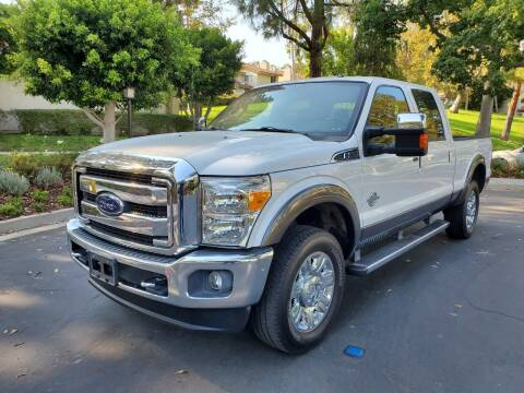 2015 Ford F-250 Super Duty for sale at E MOTORCARS in Fullerton CA
